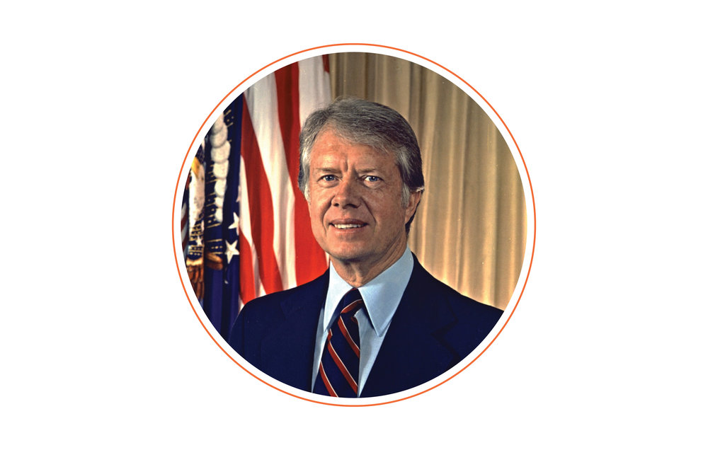 Brush with celebrity? - I have interviewed Jimmy Carter, twice, for publications. Only one was peanut related. (See above.)