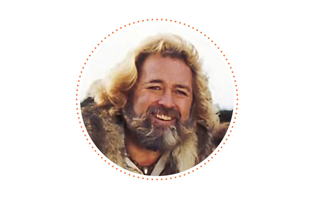 Brush with Celebrity? - I met Grizzly Adams (the actor Dan Haggerty) and admitted I had a crush on him when I was a little girl.
