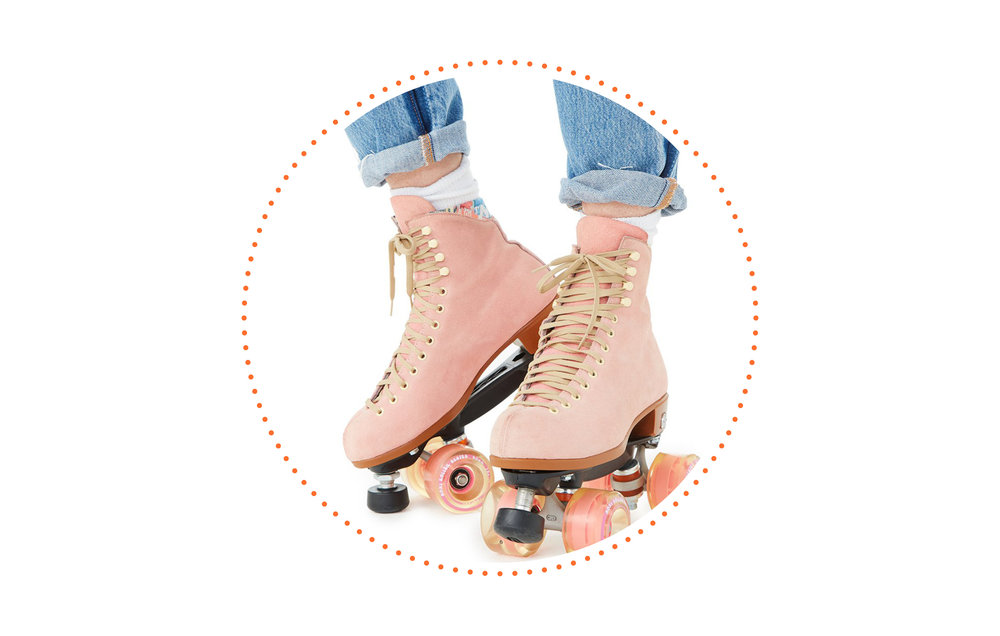 Most embarrassing moment? - The time in middle school my jeans split when roller skating in gym class.