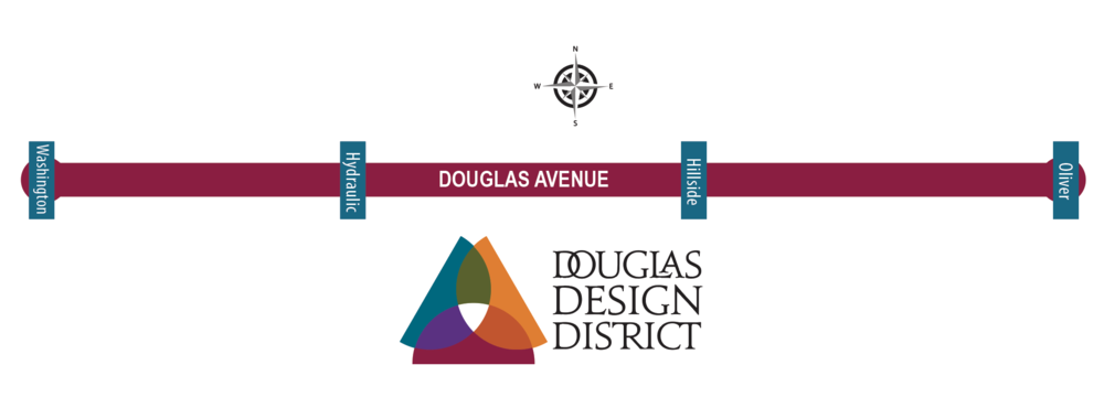 Douglas Design District Map