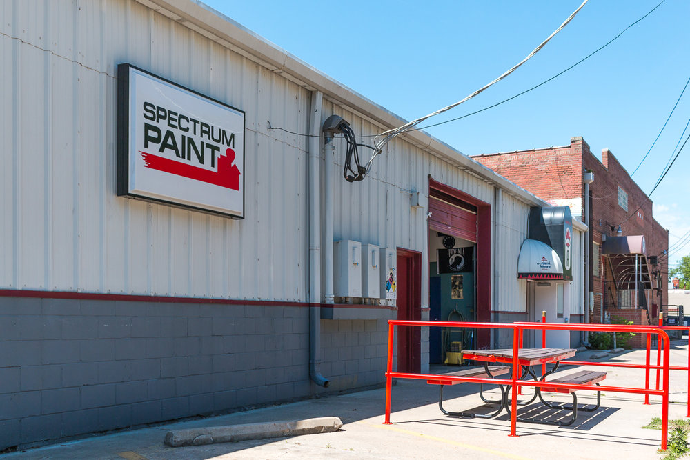 Spectrum Paints Entrance