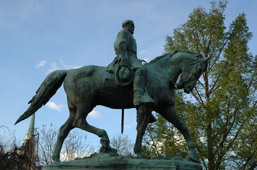 Robert E Lee Statue Charlottesville Lee Park.JPG