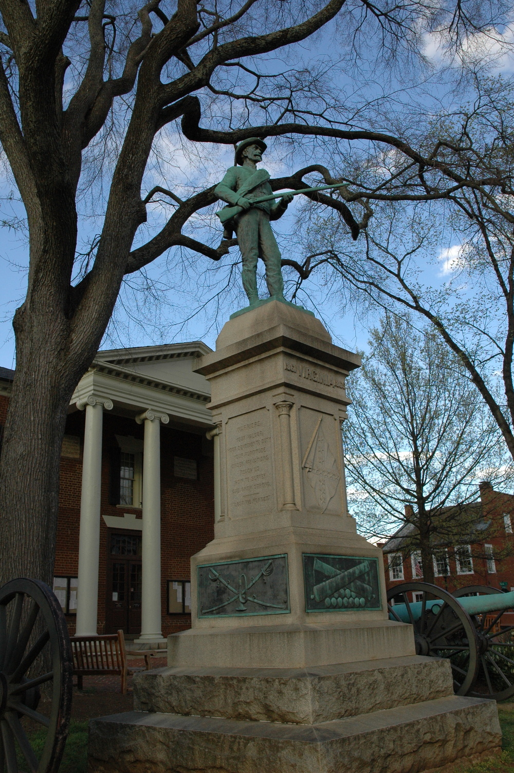 The Virginia Monument Court Square Charlottesville.JPG