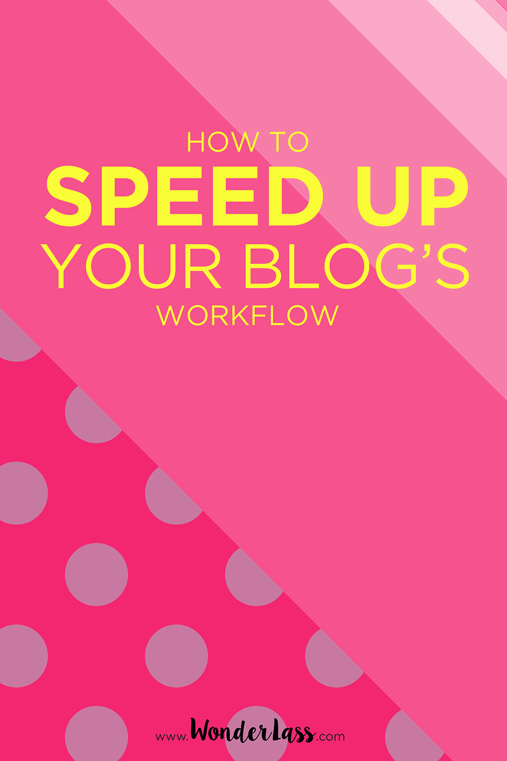 Shave hours off your blogging workflow with this awesome tool!