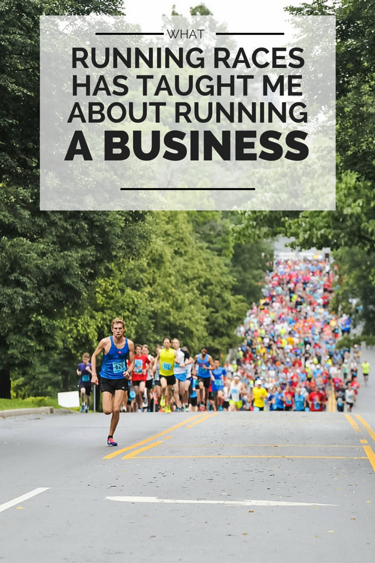 What running races has taught me about running a business!