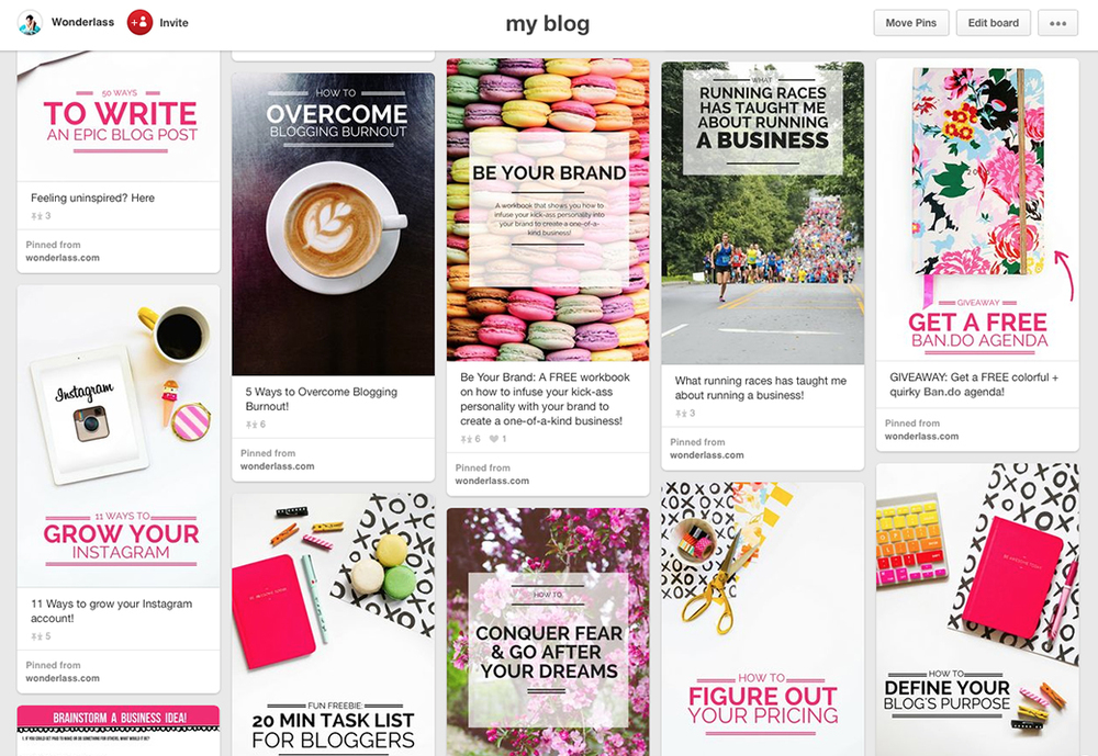 The Ultimate Guide to getting loads of Pinterest followers to help boost your blog + business!