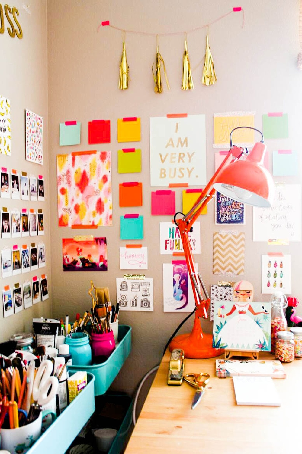 Whimsical workspaces to inspire!