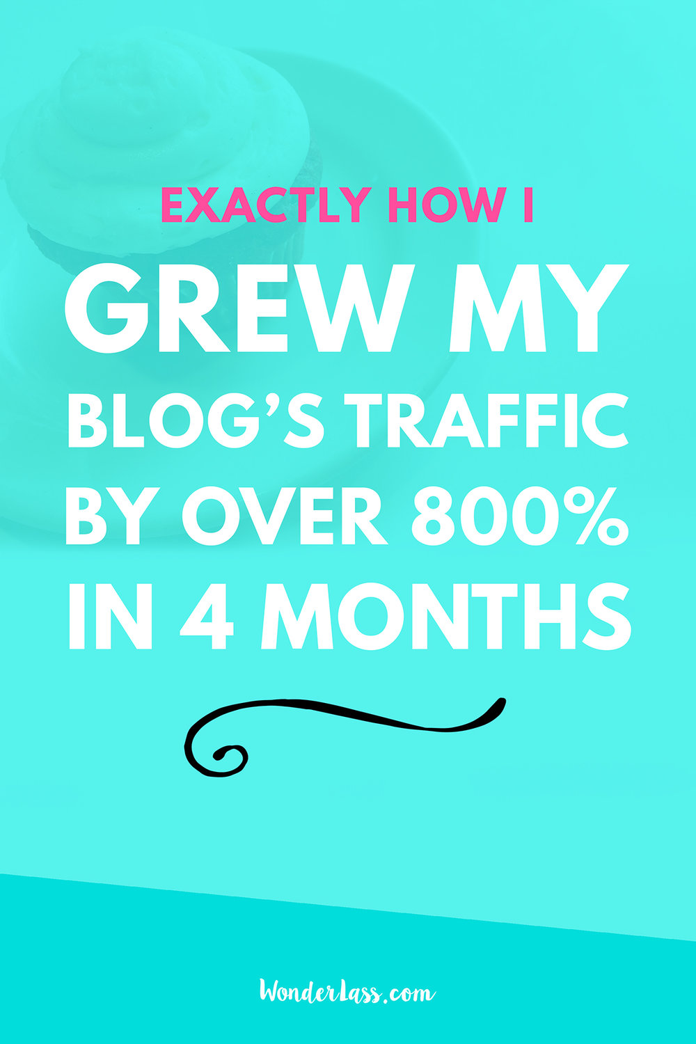 How I Grew My Blog Traffic Over 800% in 4 Months (& You Can too!) | Wonderlass