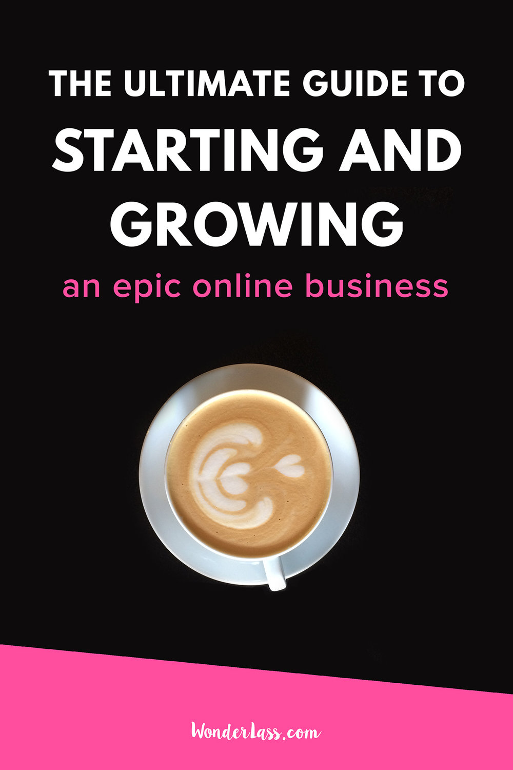 The Ultimate Guide to Starting and Growing an Epic Online Business | how to start and grow a profitable online business