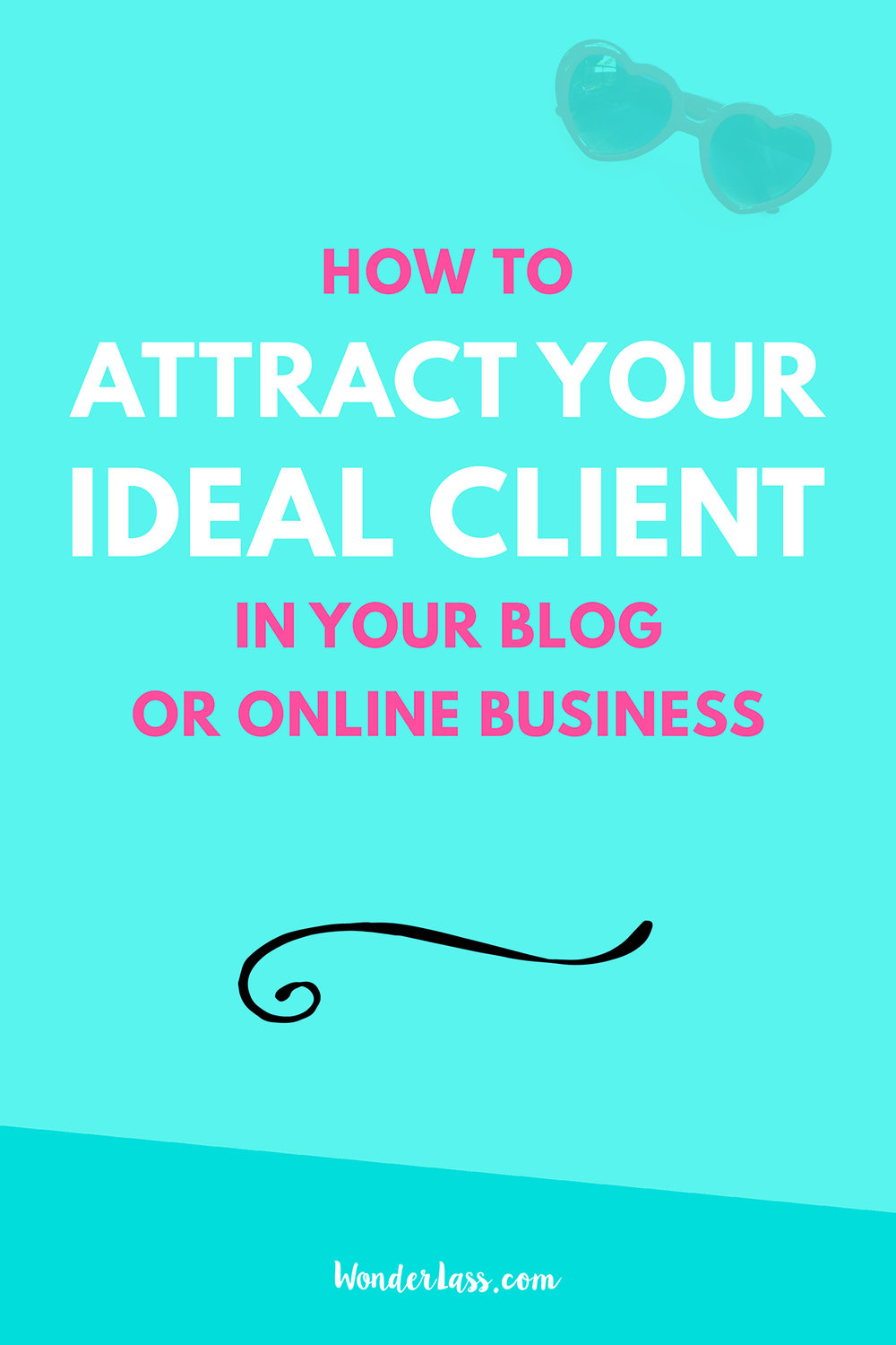 How to attract your ideal blog reader! (Plus a FREE printable!)