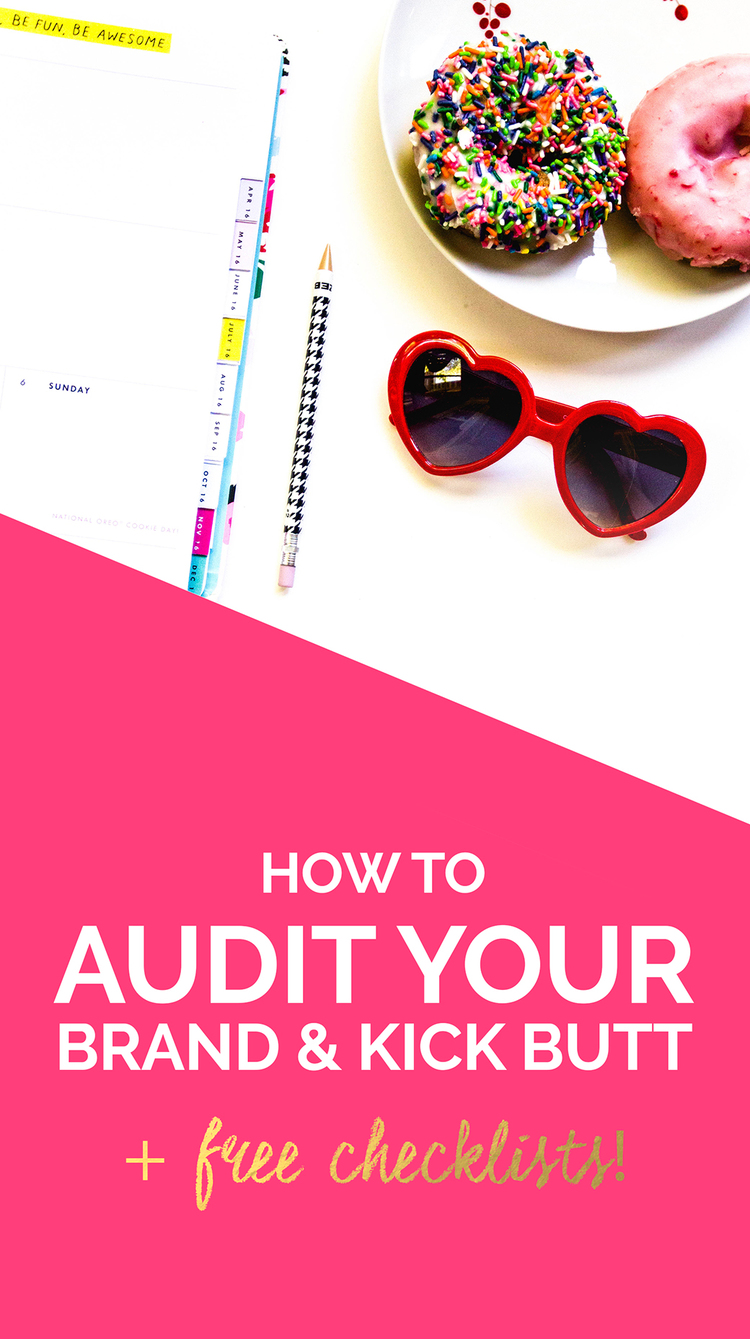 How to Audit Your Brand (Plus free checklists!) | When and how to do a complete brand audit | Wonderlass