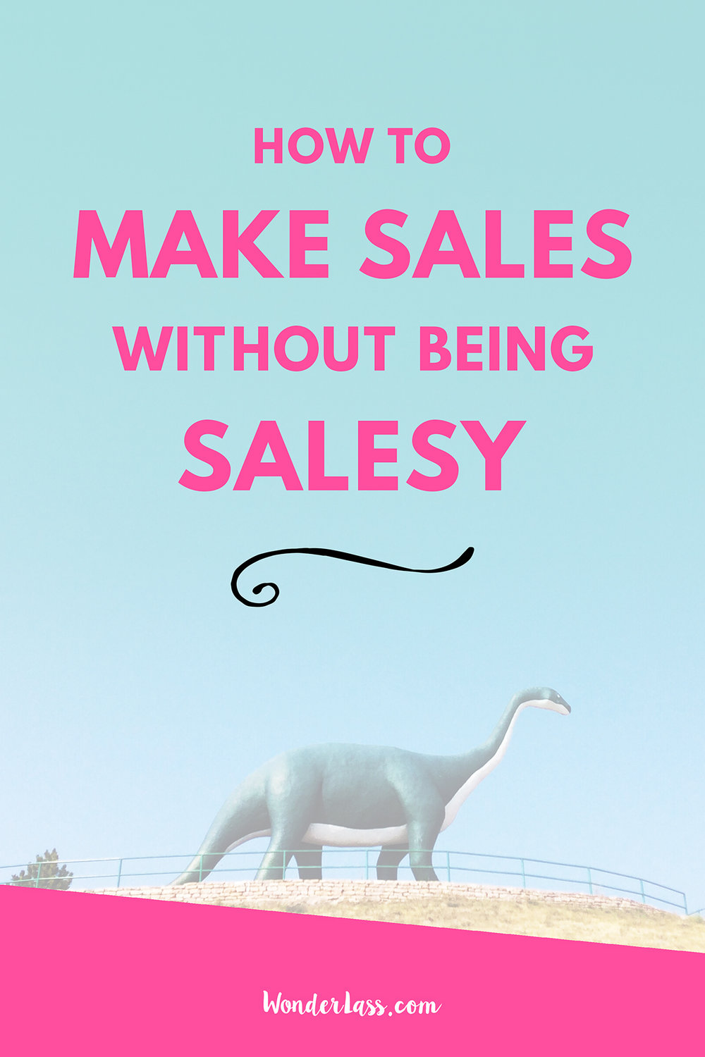How to Make Sales Without Being Salesy | want to make more sales in your business but are terrified of being salesy? Then this post is for you!