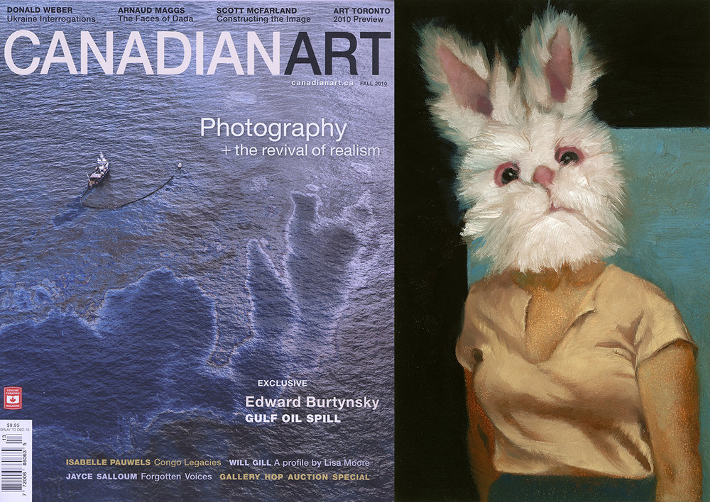 Canadian Art Cover