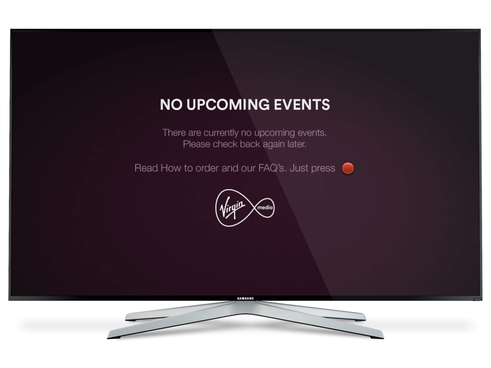 Virgin TV Live Events