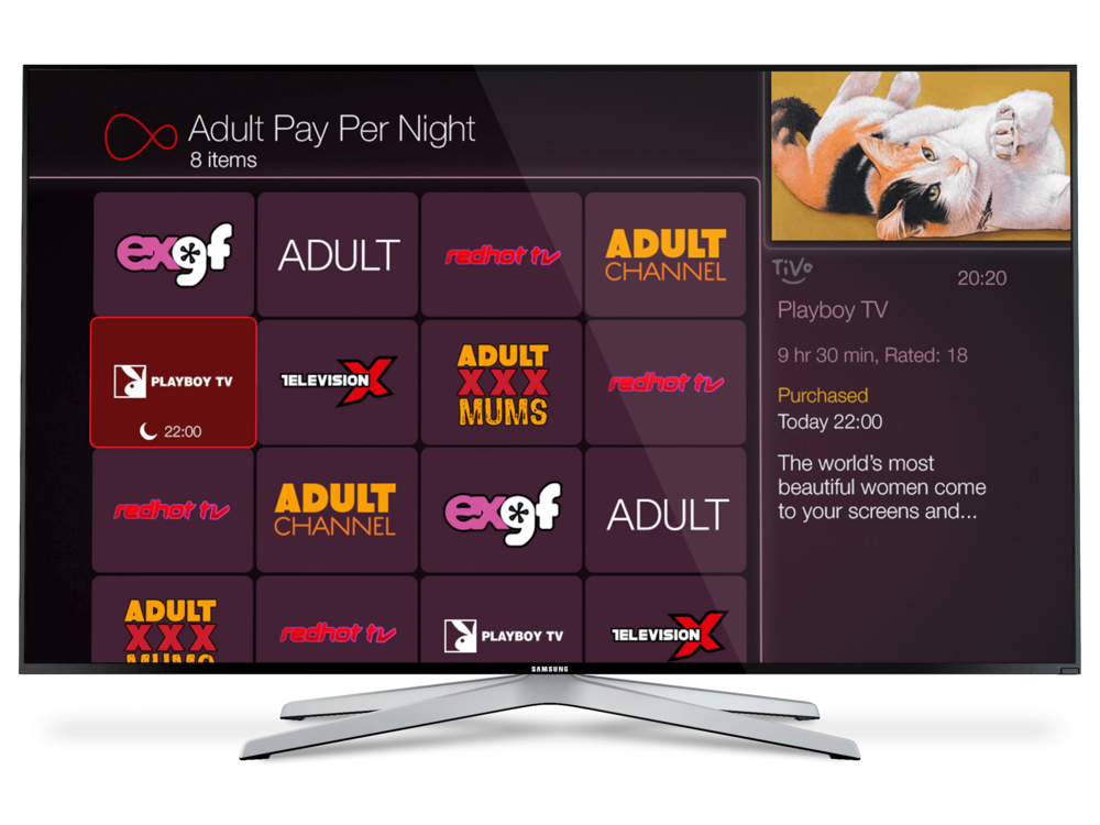 Virgin TV Adult Pay Per Night