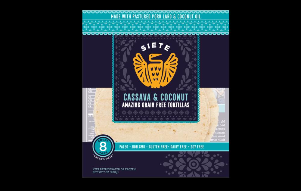 Cassava & Coconut Tortillas