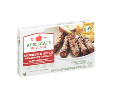 Chicken + Apple Breakfast Sausge / Applegate
