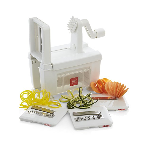 For Zoodles: Paderno Spiralizer, 4 Blade