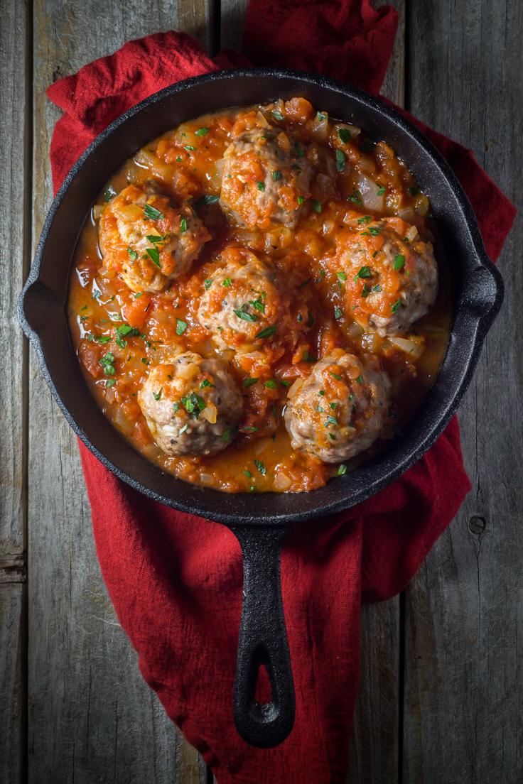 Italian Meatballs / Noshtastic