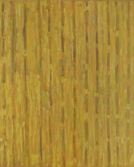 "Compassion Theme - Yellow   , 1954, Oil on Linen, 90"" x 73"""