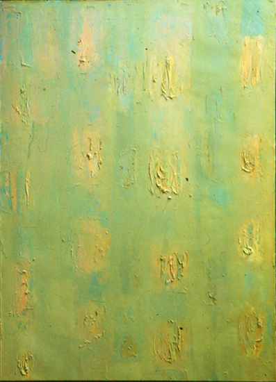 Third Theme   , circa 1955, Oil on Linen, 50x36