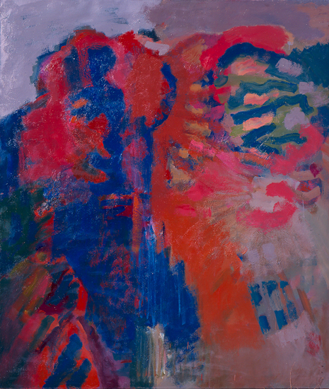 "Compassion III   , 1960, Oil on Linen, 84"" x 72"""