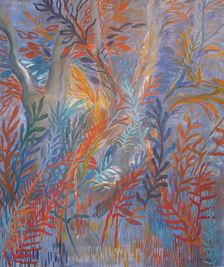 "Zauberwald I   , 2008, Oil on Canvas, 66"" x 56"""
