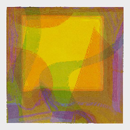 "Linda Plotkin,  Aperture VI  , 2010, 30"" x 30"""