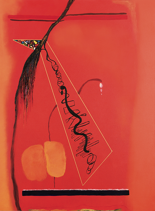 "Tear Drops , oil on canvas, 48"" x 36"", 2005"
