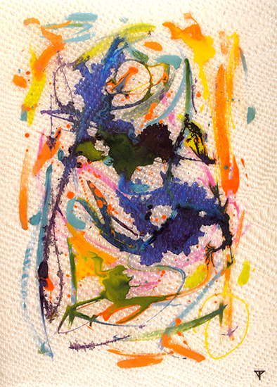 "Metamorphosis  , 2008, Mixed media, 35 3/8"" x 25 1/2""."