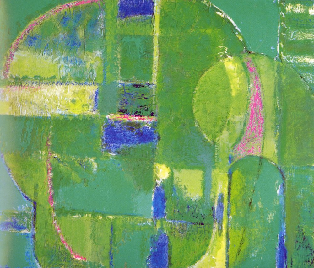 "Green Wood  , 2005, Oil on Canvas, 18"" x 21"""