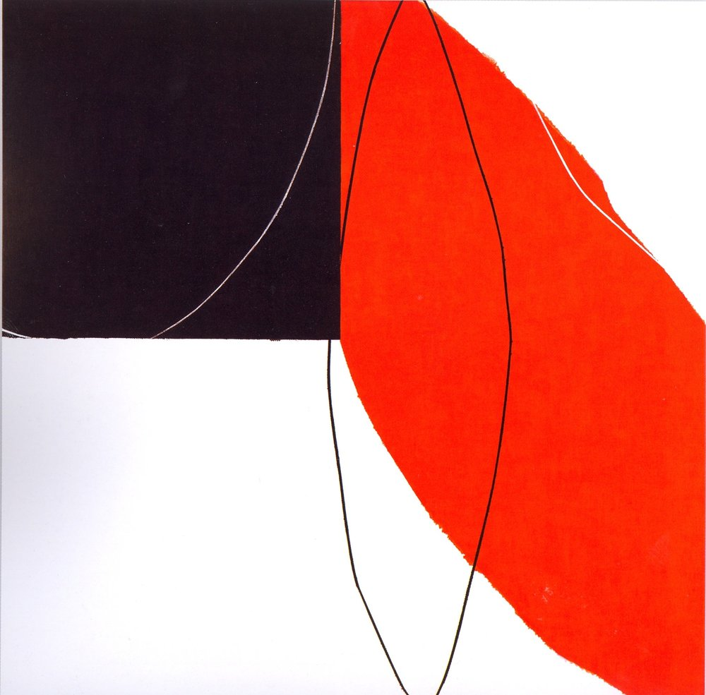 "Untitled: 07-22,   2007, Acrylic on Canvas, 28.5"" x 28.5"" (72.7 x 72.7cm)"