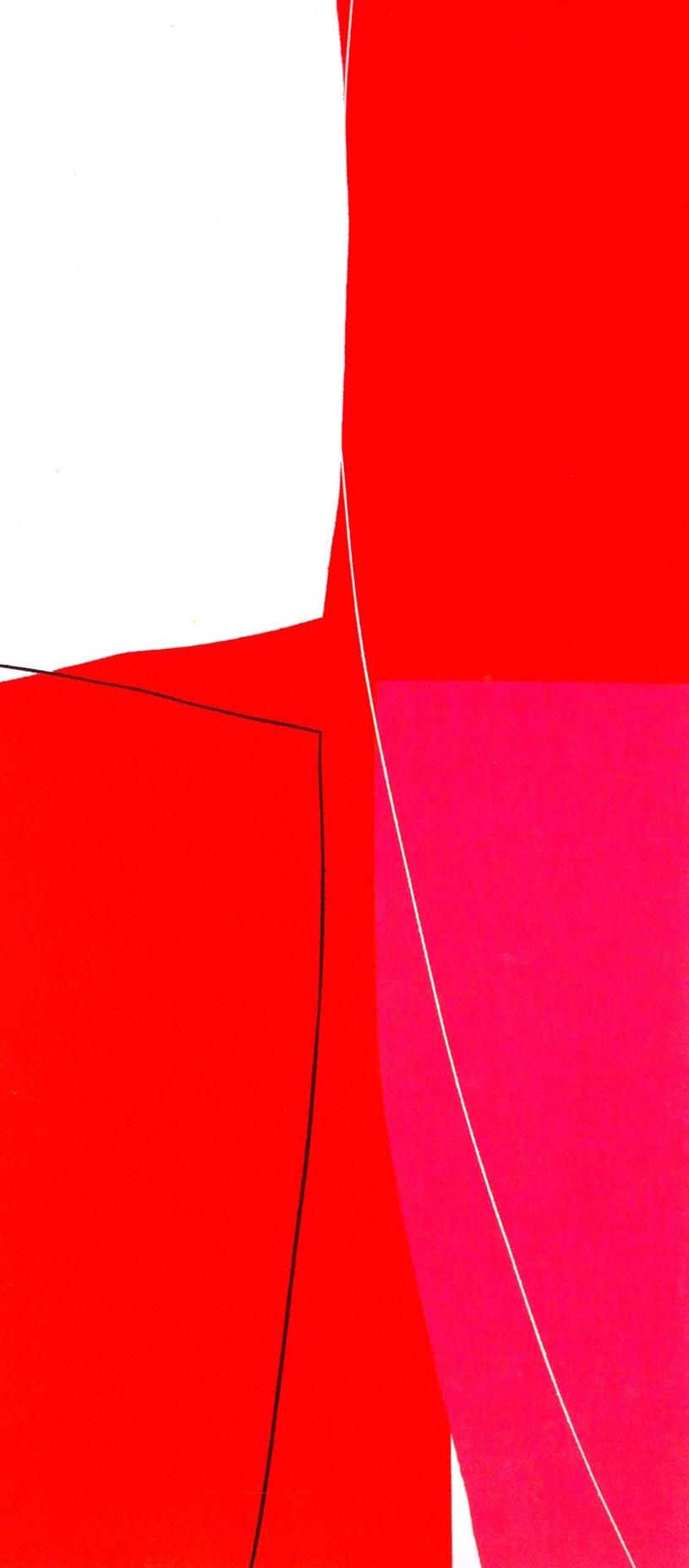 "Untitled: 07-26,   2007, Acrylic on Canvas, 46"" x 20.5"" (116.5 x 52cm)"