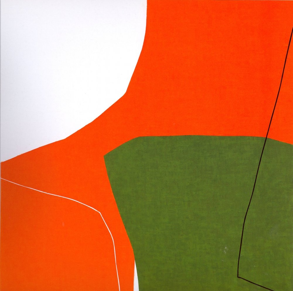 "Untitled: 07-24,   2007, Acrylic on Canvas, 28.5"" x 28.5"" (72.7 x 72.7cm)"