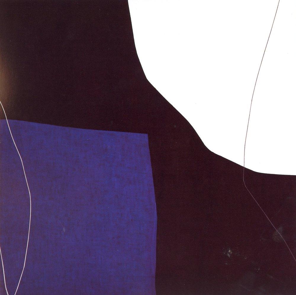"Untitled: 07-18,   2007, Acrylic on Canvas, 28.5"" x 28.5"" (72.7 x 72.7cm)"