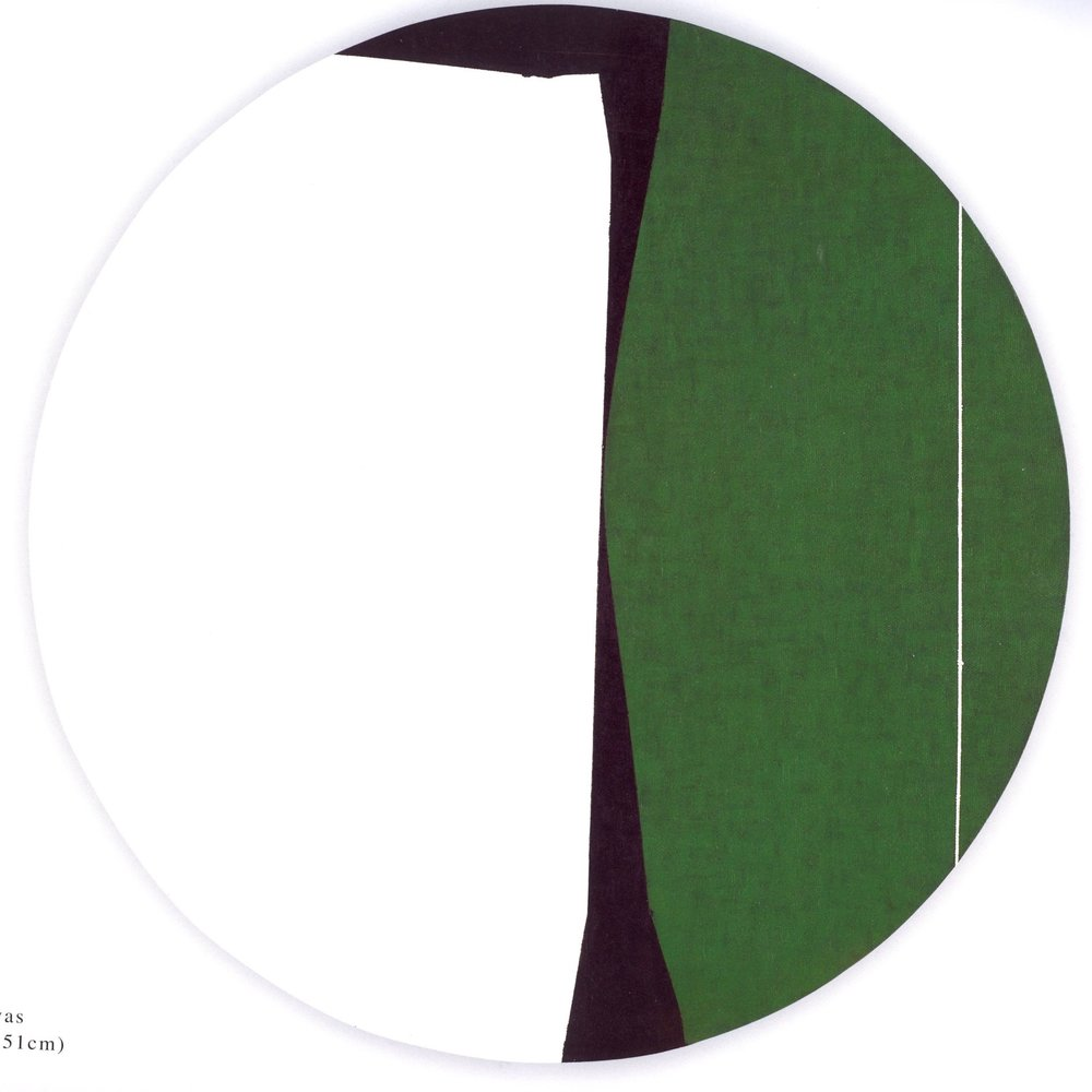 "Untitled: 07-30,  2007, Acrylic on Canvas, 20"" x 20"" (51 x 51cm)"