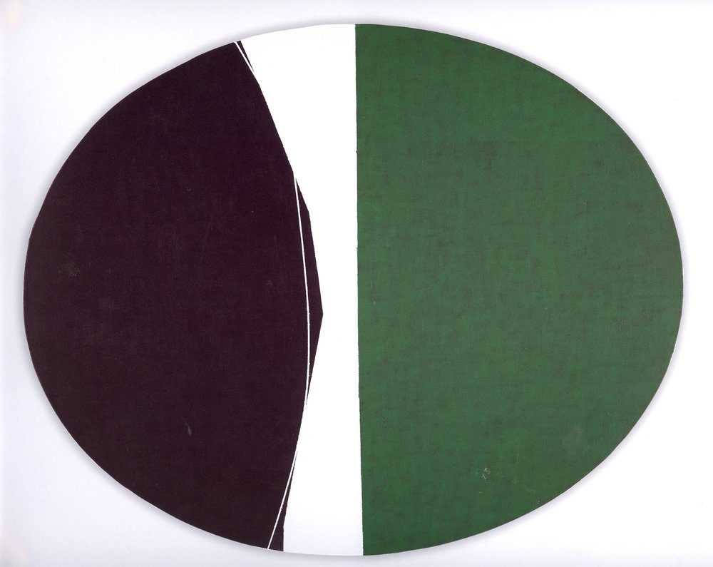 "Untitled: 07-31,   2007, Acrylic on Canvas, 16"" x 20"" (41 x 51cm)"