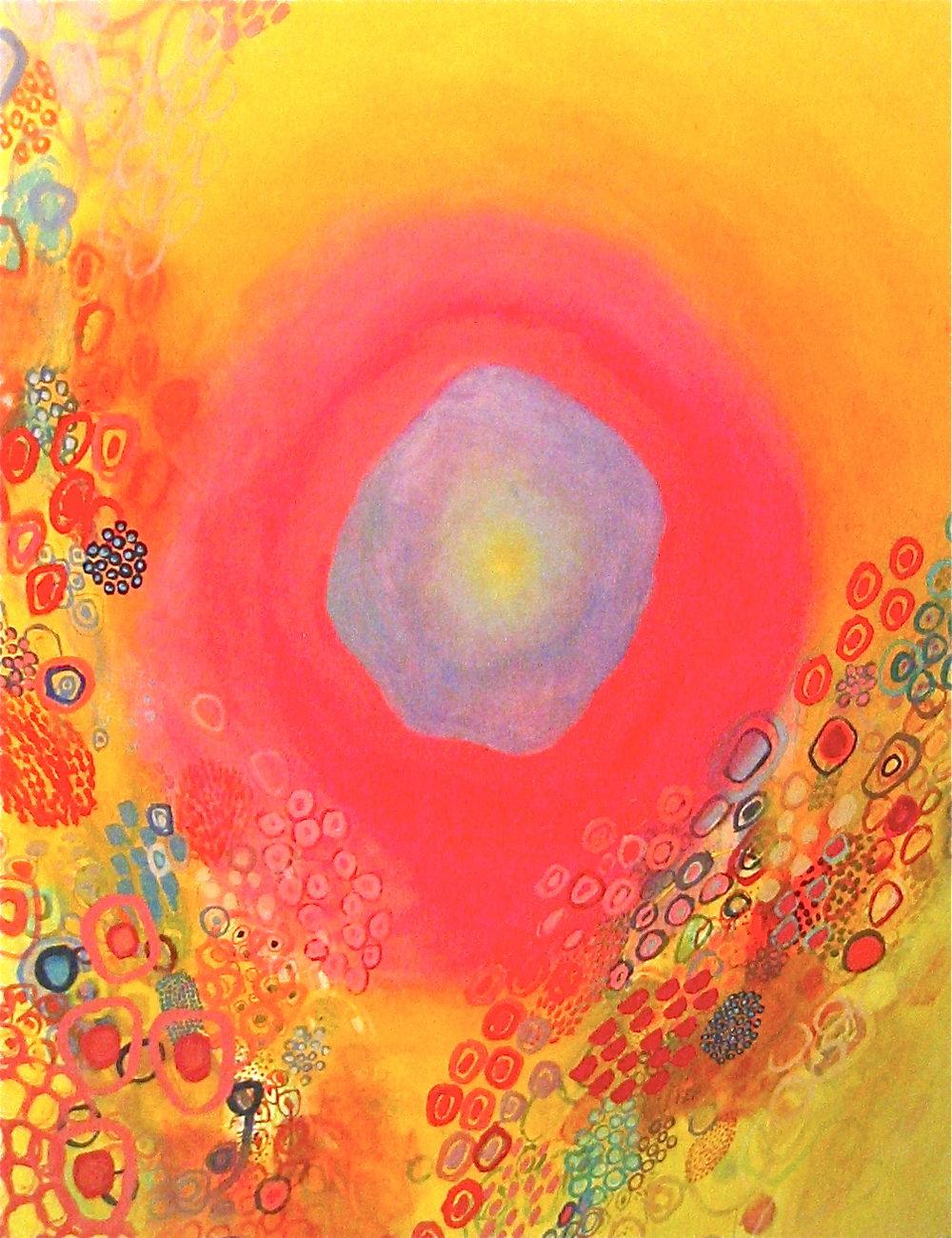 "Rebecca Schweiger,   Returning,   2017, Oil on Canvas, 60"" x 48"""