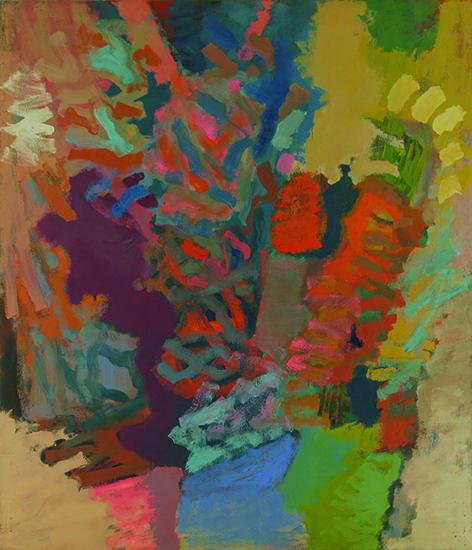 """Ralph Wickiser,   Eros,   1960, Oil on Linen, 84"""" x 72"""""""