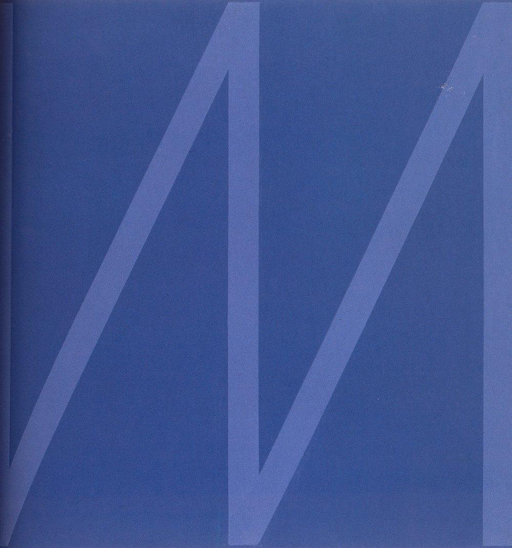 Work 2005 - X    Oil on canvas, 100 x 100 cm, 2005