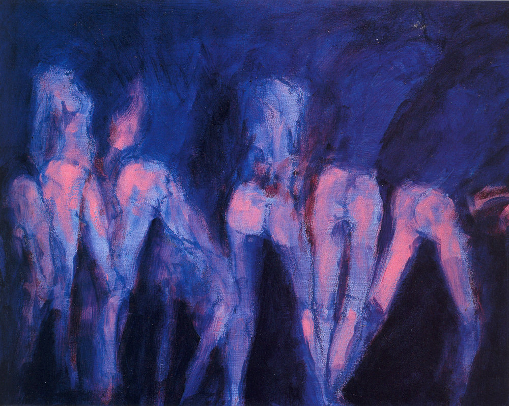 """Gary M. Welton,  Barre Series #142,  2003, Oil on Canvas, 16"""" x 20"""""""