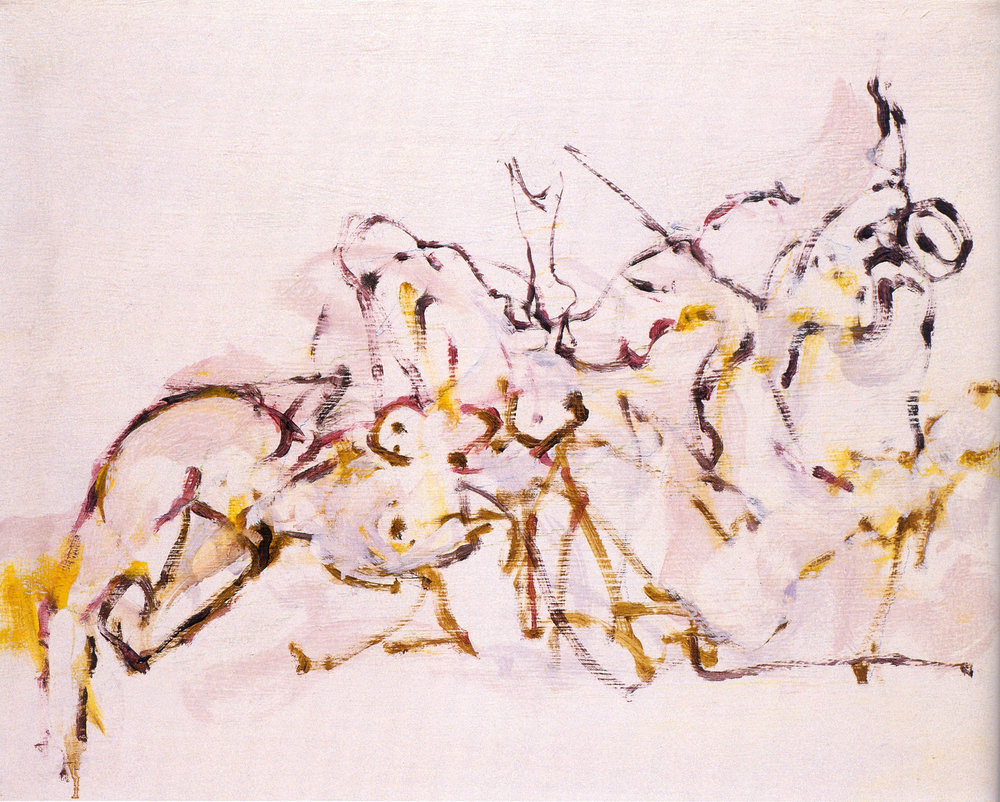 """Gary M. Welton,  Barre Series #143,  2003, Oil on Canvas, 16"""" x 20"""""""
