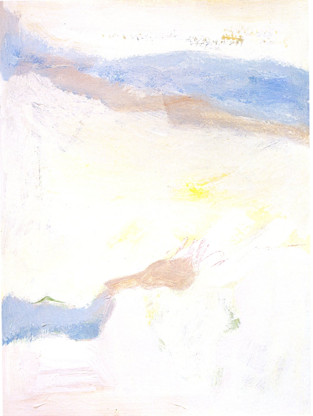 "California Dreaming,   2002, Acrylic on paper, 30 1/4"" x 22 1/4"""