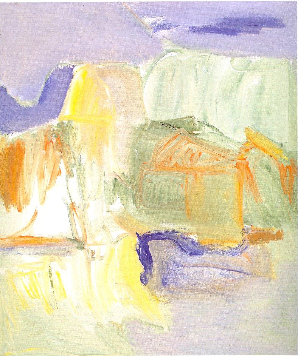 """Seaside,   2002, Acrylic on canvas, 24"""" x 20"""""""