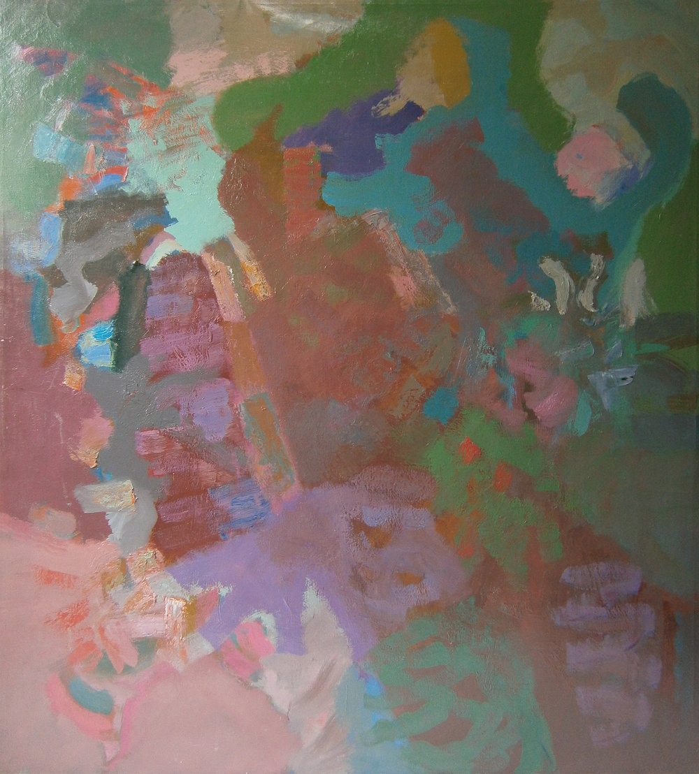 After Glow , 68''x60'', 1959