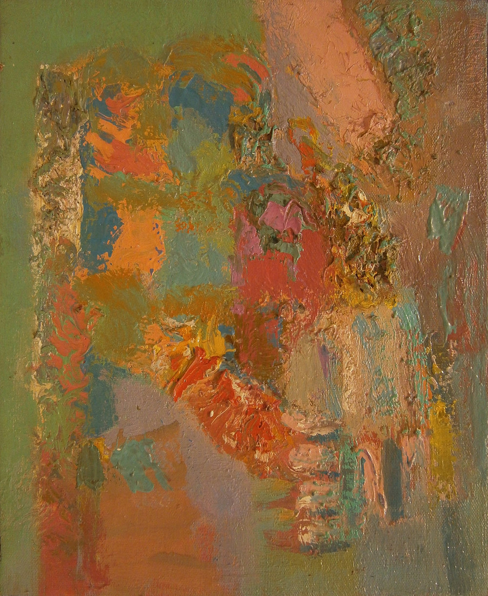 Interception , 13.5''x11'', 1951