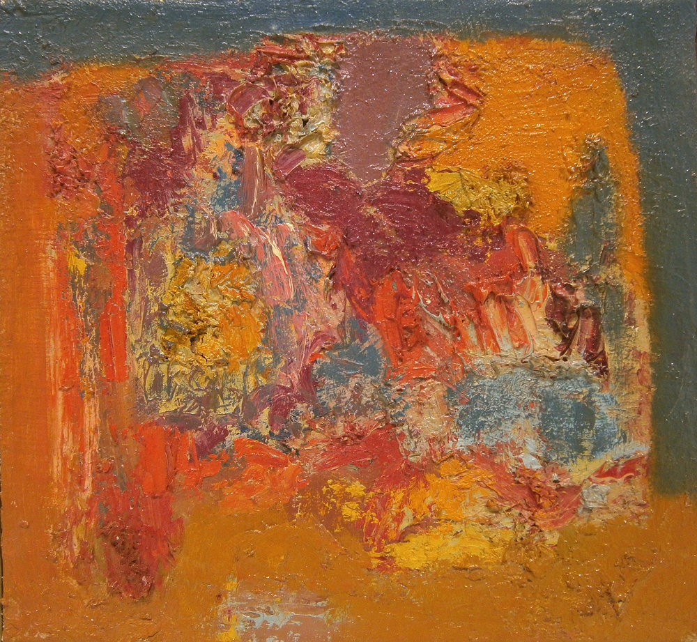 Untitled Abstract , 12''x12'', 1960