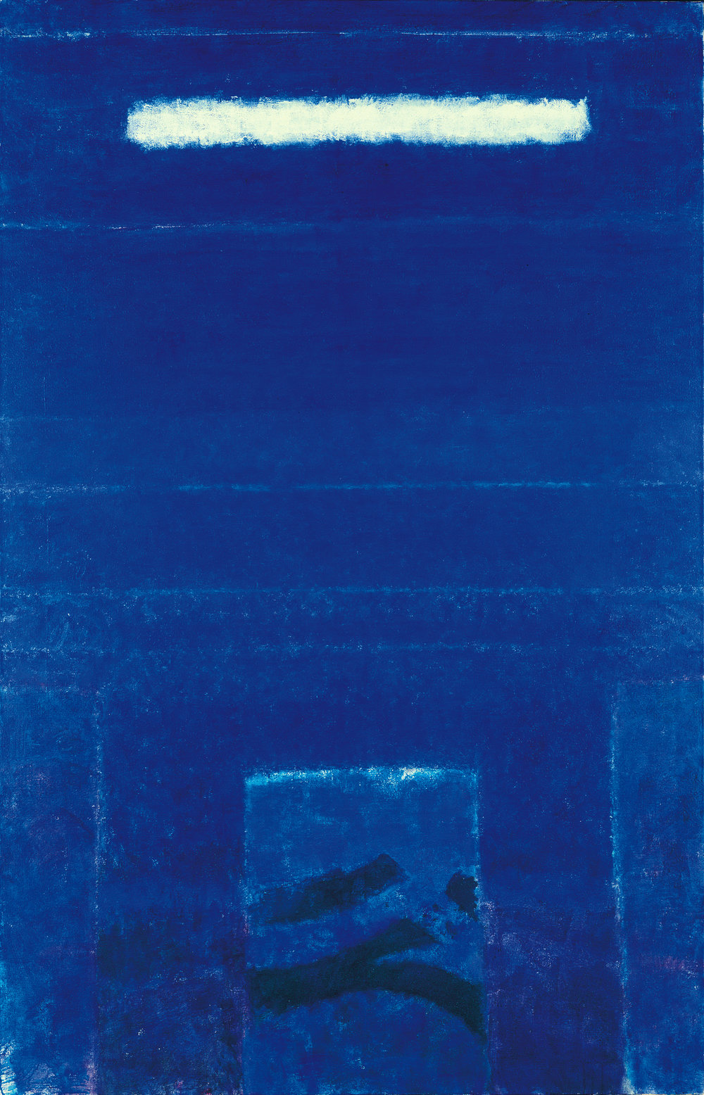 "H.A. Sigg  The Dream II , 2001, Acrylic on Canvas, 77"" x 49"""
