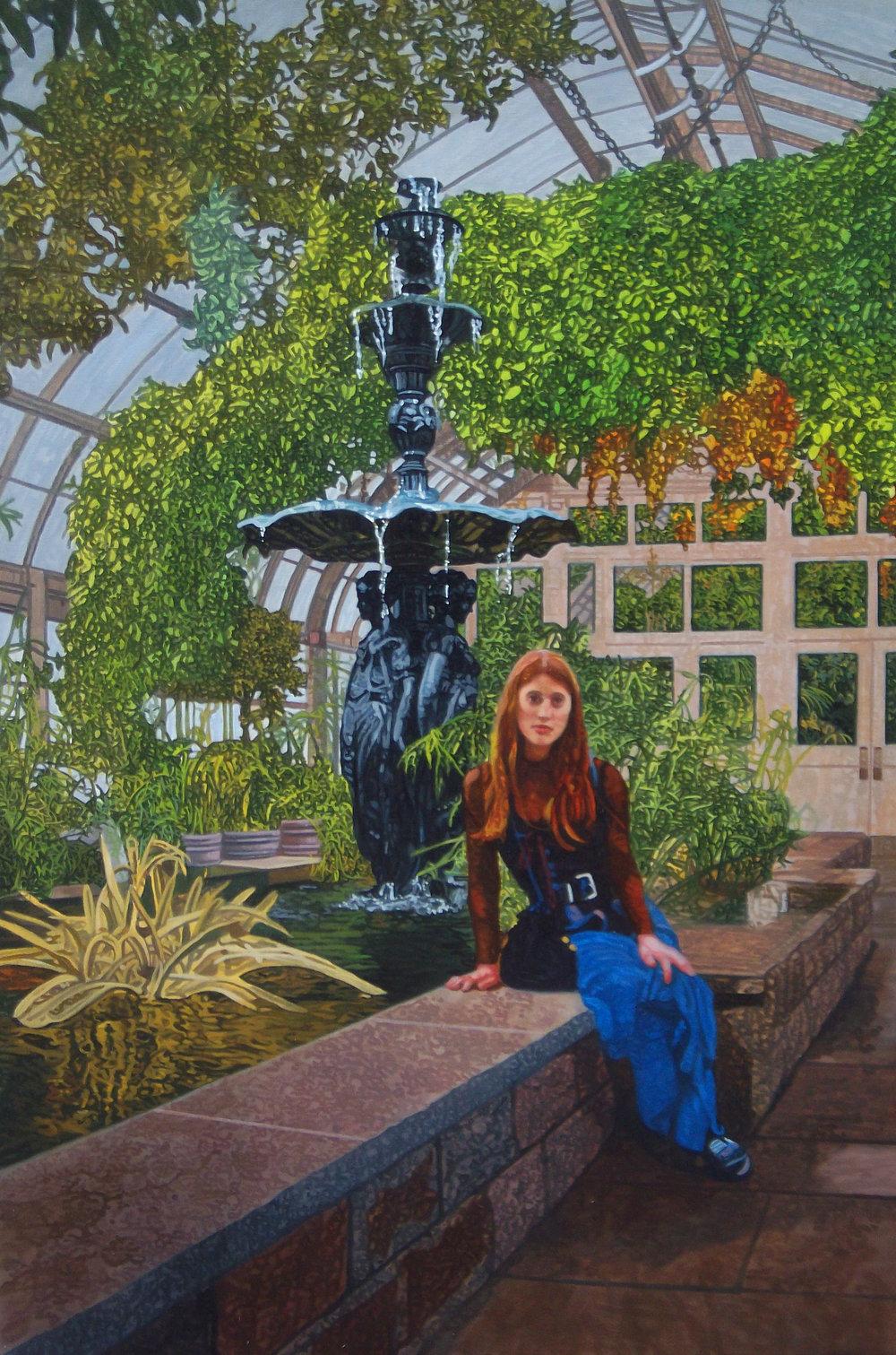 Eve in the Garden #2, Oil on Canvas, 36%22 x 24%22, 2016.jpg