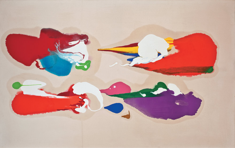 Charles Schucker Untitled, Oil on Canvas, 1983, 47 x 73